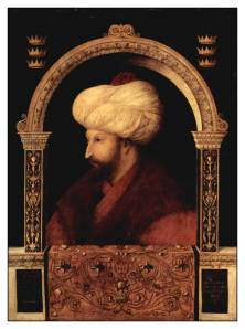 Portrait of Sultan Mehmed the Conqueror