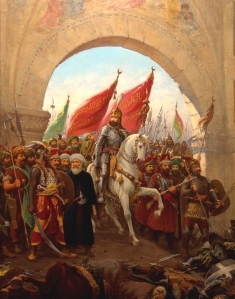 Sultan Mehmed at the Gates of Constantinople